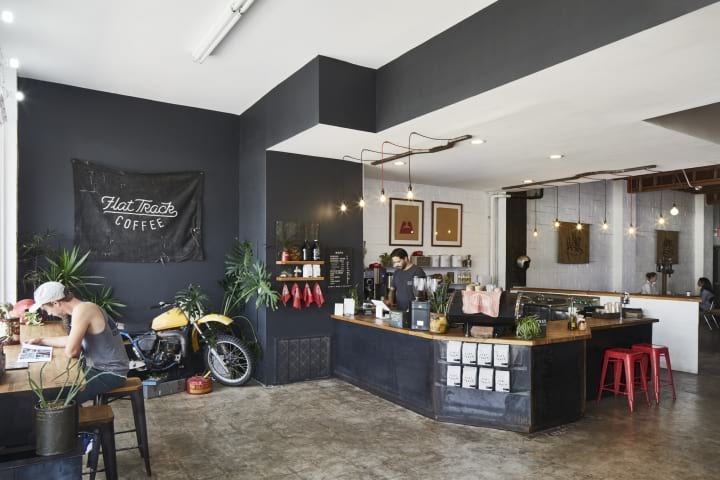 Flat-Track-Coffee-by-Lilianne-Steckel-Interior-Design-Austin-Texas03 Places to work in Austin Austin Coffee Shops